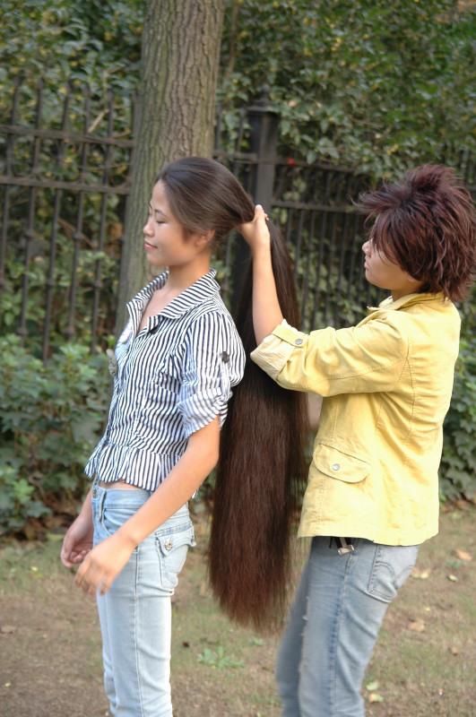 AsS HeR!! longhair pull